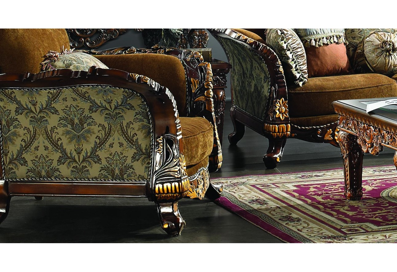 Design Upholstery Living Room Set Victorian European Classic Design
