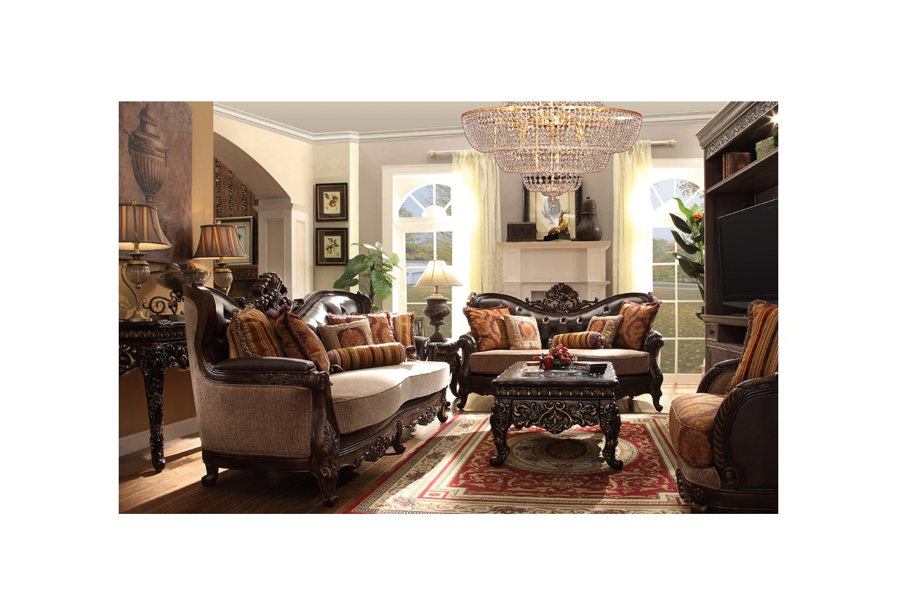 Victorian style living room sets modern house for Homey living room designs