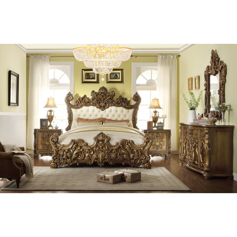 hd 8008 homey design bedroom set victorian european