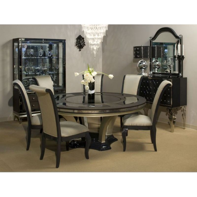 Aico Dining Room Sets: Aico Hollywood Swank NU03000 Dining Room Collection