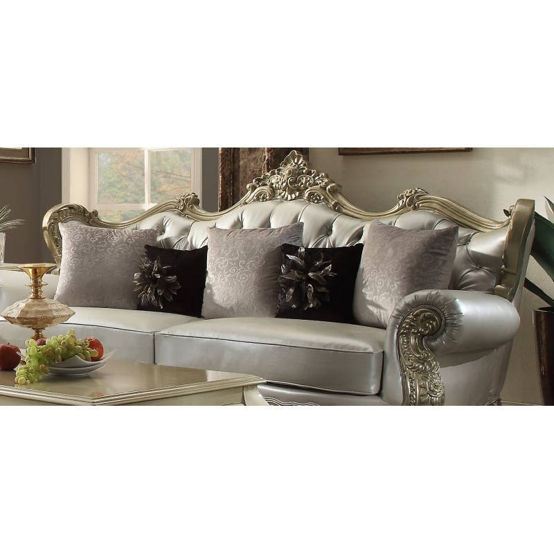 Living room hd 13006 homey design upholstered living room set