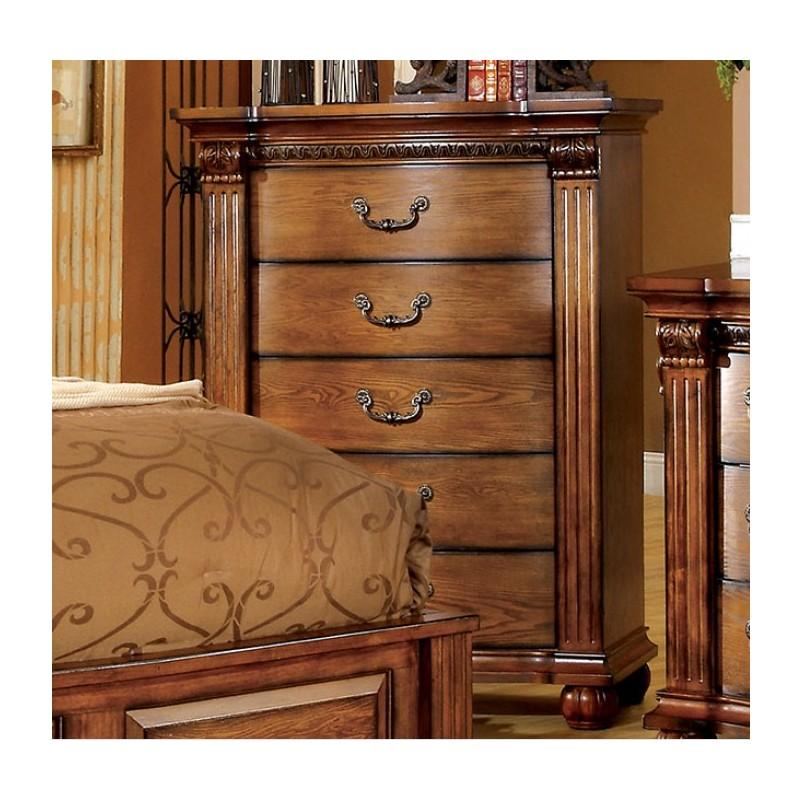 Imported Bedroom Furniture CM7738 Import Furniture Of America Bellgrand Traditional Bedroom Set