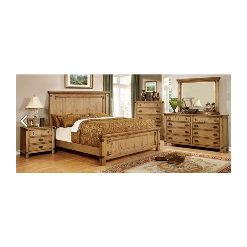 Import Furniture Country Style Bedroom Set The Mansion Furniture