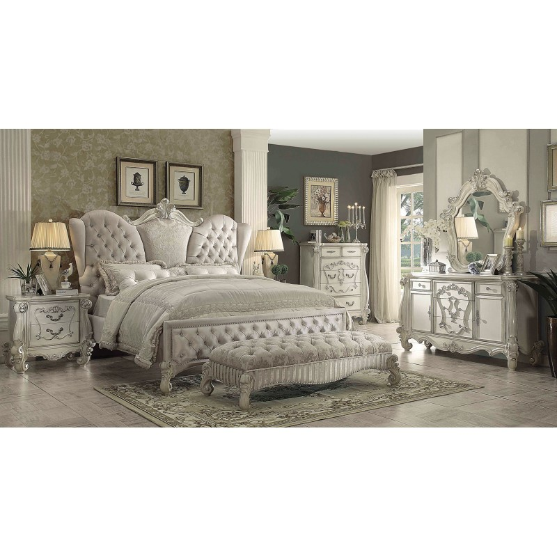 timeless collections bedroom 21130 acme versailles bedroom set
