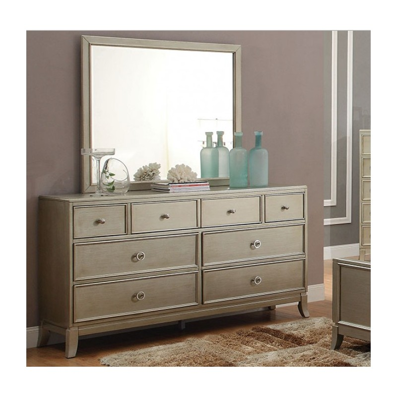 bedroom cm7430 furniture of america bedroom set enid silver finish