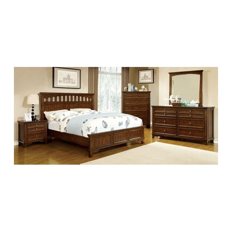 CM7781 Furniture of America Bedroom set Chelsea Cherry Finish. Furniture of America Bedroom set Chelsea Cherry Finish