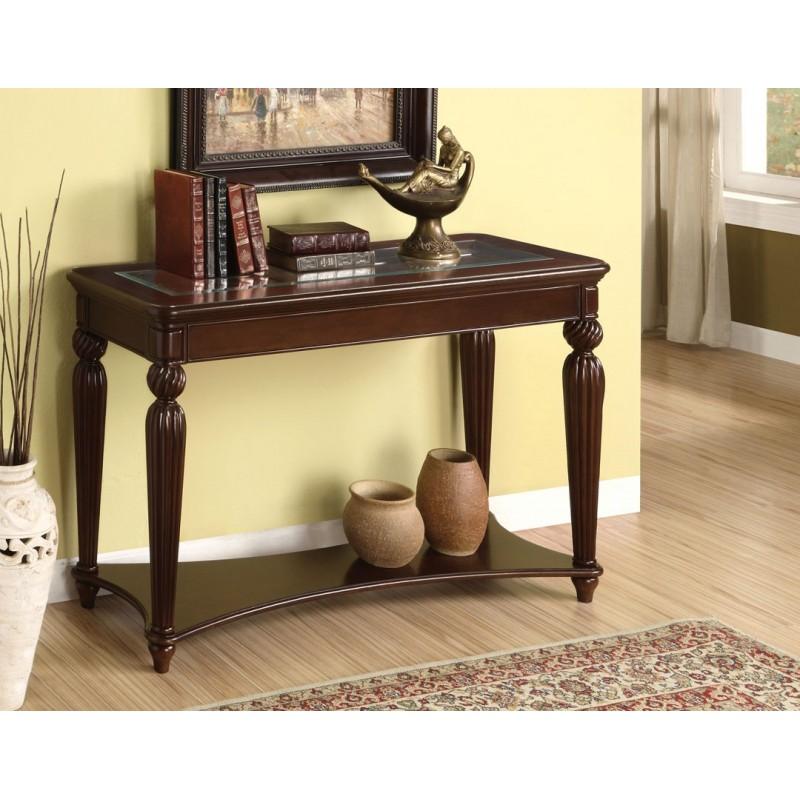 Sm 6107 juego de sala colección franklin burgundy con madera   the ...