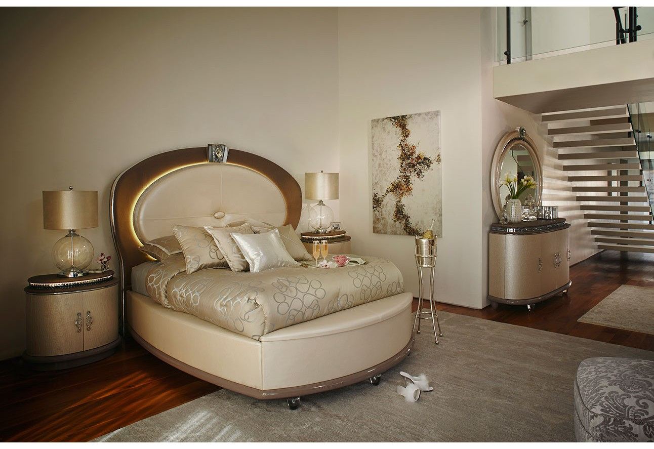 amini collection by room bedrooms aico overture bedroom set