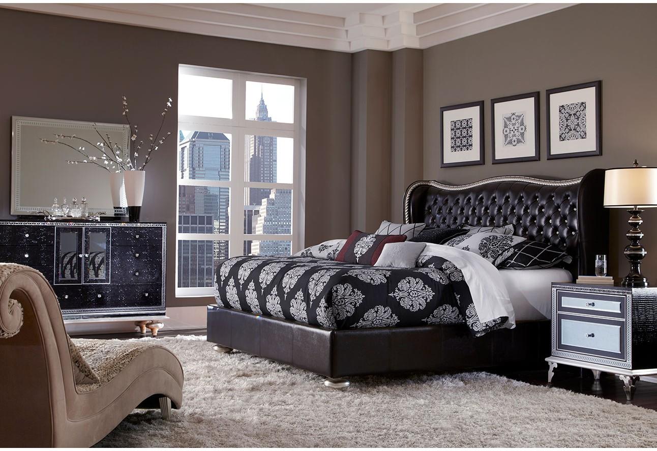 Michael Amini Bedroom Furniture Hollywood Swank Starry Night Michael Amini Furniture Designs Amini