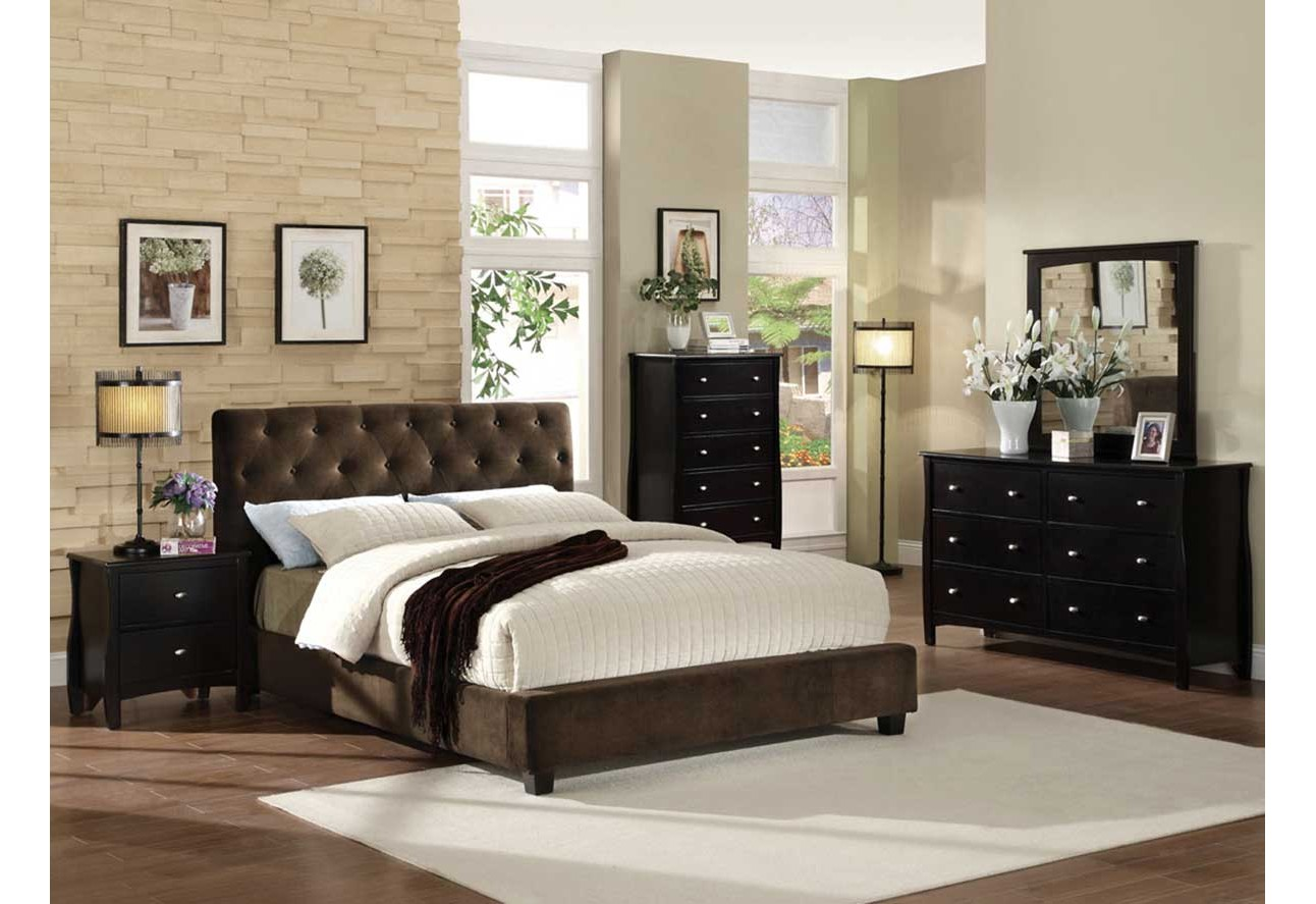Bed By Import Furniture Of America Bedroom Set The Mansion Furniture