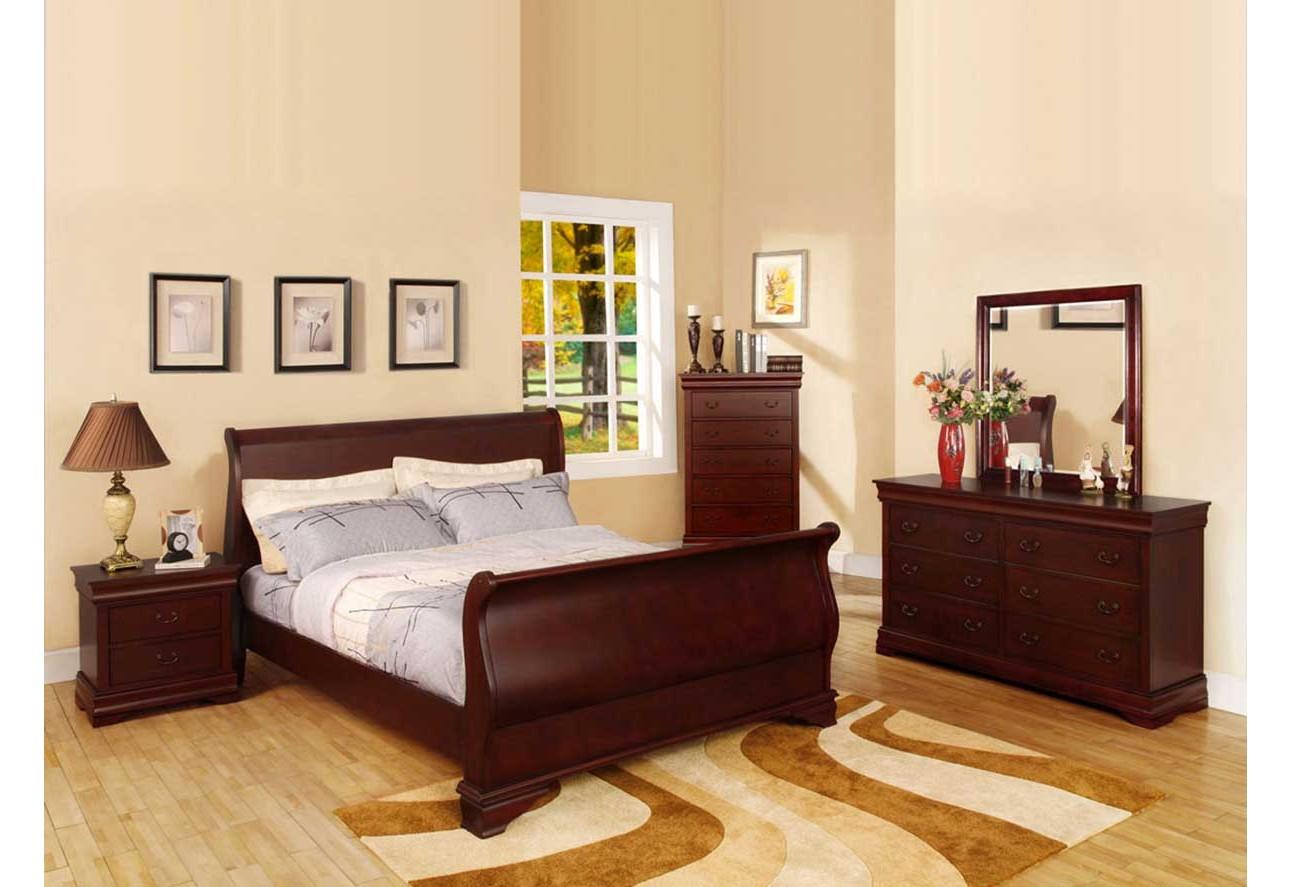 Imported Bedroom Furniture Bedroom CM7815 Furniture Of America Laurelle Bedroom Set Black