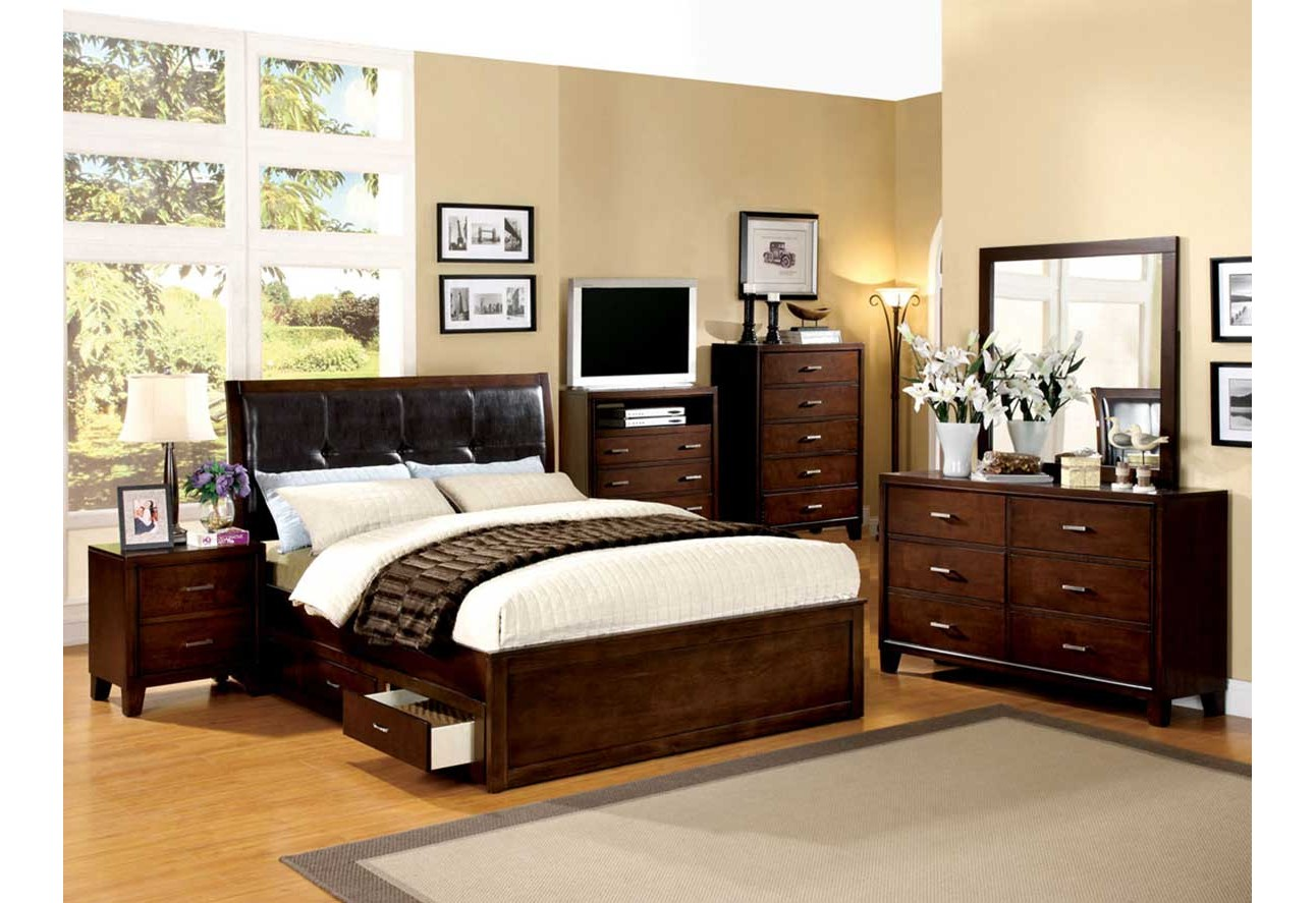 Bedroom CM7067 Enrico IV Import Furniture Of America Bedroom Set