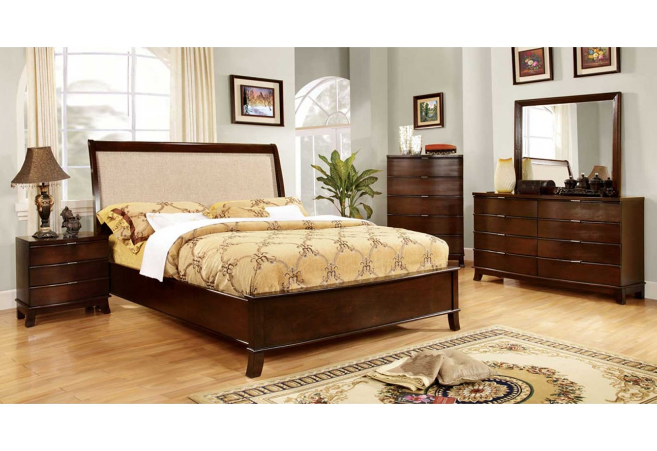 Bedroom CM7333 Import Furniture Of America Traditional Bedroom Set