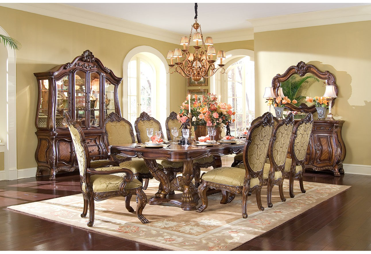 aico chateau beauvais 75002 dining room collection
